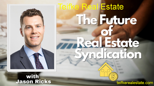 Picture of Jason Ricks for The Future Of Real Estate Syndication on blockchain real estate investments.